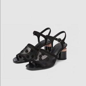 NWT Zara Mesh sandals